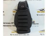 Чехлы на УАЗ Патриот рестайлинг объемные (флок) комплект 5 мест