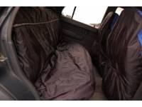 Универсальные грязезащитные чехлы Черные (на заднее сидение)