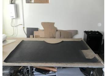 Покрытие пола в салон (автолин из 2-х частей) на УАЗ 452 1 шт
